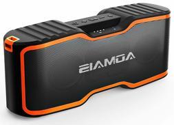 AOMAIS Sport II+ Bluetooth Speakers, Portable Outdoor Wirele