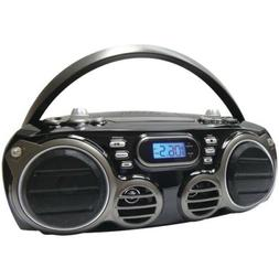 SYLVANIA SRCD682BT Bluetooth Portable CD Radio Boom Box with