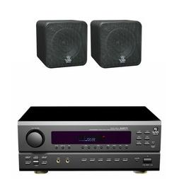 Pyle Stereo Receiver Package with Waterproof Speakers for yo