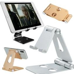 Foldable Cell Phone Desk Stand Holder Mount Cradle For Smart