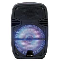 "SuperSonic IQ Sound 12"" Portable Bluetooth DJ Party Speaker"