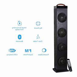 Tower Speaker, TRANSPEED Wireless Bluetooth Floorstanding Sp