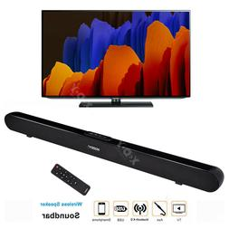 TV Speaker Soundbar Subwoofer Wireless Home Theater Sound Ba