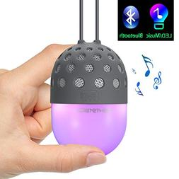Lightstory Mini Bluetooth Speaker with Colorful LED Light, P