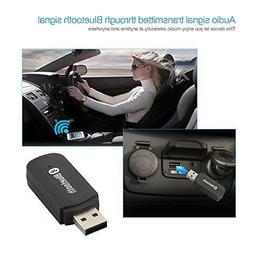 USB Bluetooth Music Stereo Wireless Audio Receiver Adapter f