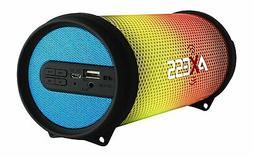NEW Axess Vibrant Mini SPBL1043 Blue HIFI Bluetooth Speaker