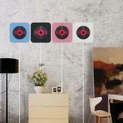 Wall Mounted CD Player FM Radio Bluetooth Music Speaker Home