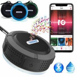 Waterproof Bluetooth Speaker Mini Wireless Shower Radio Suct