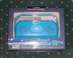 Waterproof Bluetooth Speaker NEW Pyle PBTW20BL Shower Lake S