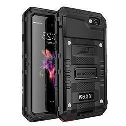 seacosmo Waterproof Case for iPhone 6 / 6S with Built-in Scr