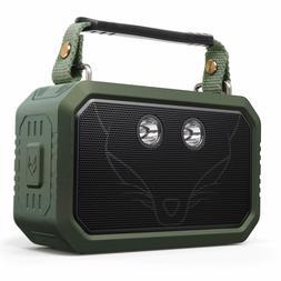 DOSS Waterproof IPX6 20W Stereo Sound Wireless Portable Blue
