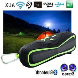 Waterproof Portable Bluetooth Speaker Stereo Super Bass Show