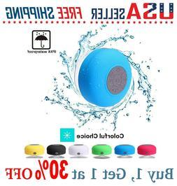 Pokanic - Waterproof Bluetooth Speaker Shower Wireless Resis