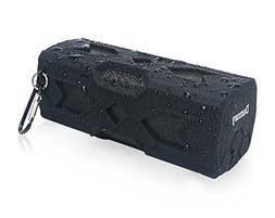 Damusy Portable Waterproof Bluetooth Speaker,NFC Stereo Wire