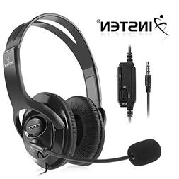 Insten Wired Stereo Gaming Headset Headphone with Mic / Volu
