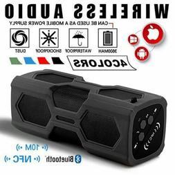 Portable Wireless Bluetooth Speaker Subwoofer Super Bass Ste