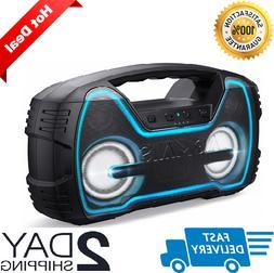 Wireless Bluetooth Speakers AOMAIS HD Stereo Sound Deep Bass