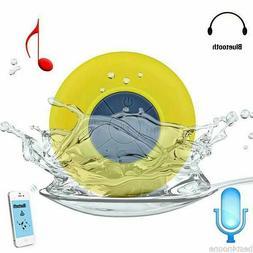 Wireless Bluetooth Handsfree Waterproof Mic Suction Mini Spe