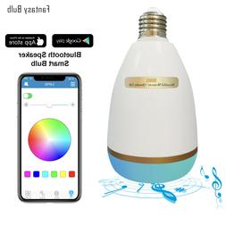 Wireless Bluetooth Speaker Bulb 18W LED RGB Smart Music Part