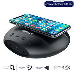 Wireless Charger with Bluetooth speaker Portable Wireless Ch