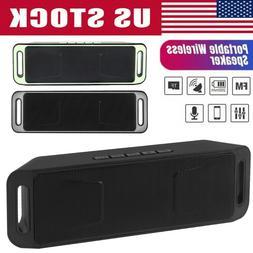 Wireless Dual Bluetooth Speaker Waterproof Outdoor Stereo Ba