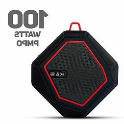 Wireless Portable Bluetooth Speaker 100 Watt Power Rugged Co