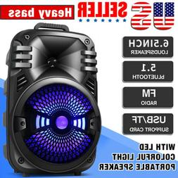 Wireless Portable FM Bluetooth Speaker Subwoofer Heavy Bass