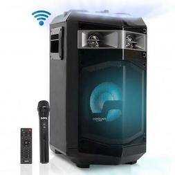 Wireless Portable PA Speaker System - 500W Bluetooth Compati
