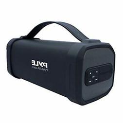 Pyle Wireless Rugged Sound Box Bluetooth Speaker PBMSQG9