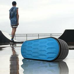 Wireless Waterproof Bluetooth Speaker 6-8 Hour Playtime Port