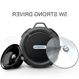 VicTsing Wireless Waterproof Speaker With 5w Driver Suction