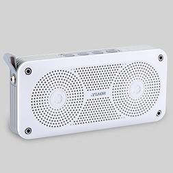 SOAIY X6 IPX4 Waterproof Bluetooth Speaker, 10W Portable Blu
