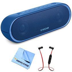 Sony XB20 Portable Wireless Speaker with Bluetooth Blue 2017