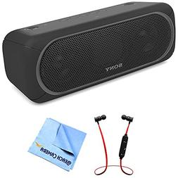 Sony XB40 Portable Wireless Speaker with Bluetooth Black  wi
