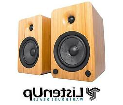 Kanto YU6 Powered Speakers with Bluetooth and Phono Preamp,